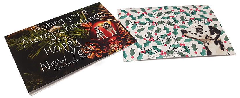 Christmas Card Designs that Emma Spencer Completed