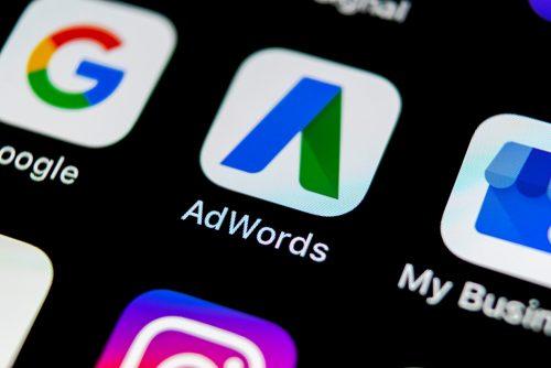 Image of AdWords app