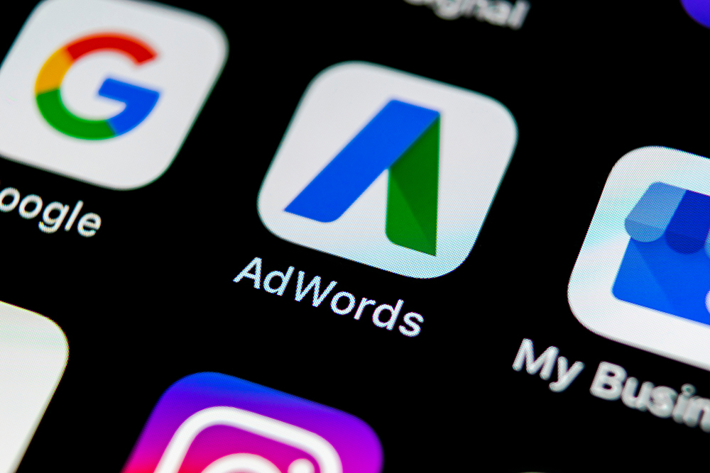 Image of AdWords app