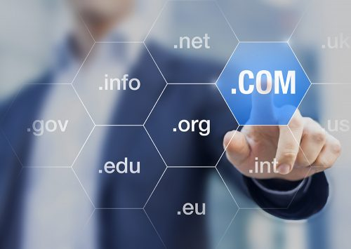 Photo of domains floating