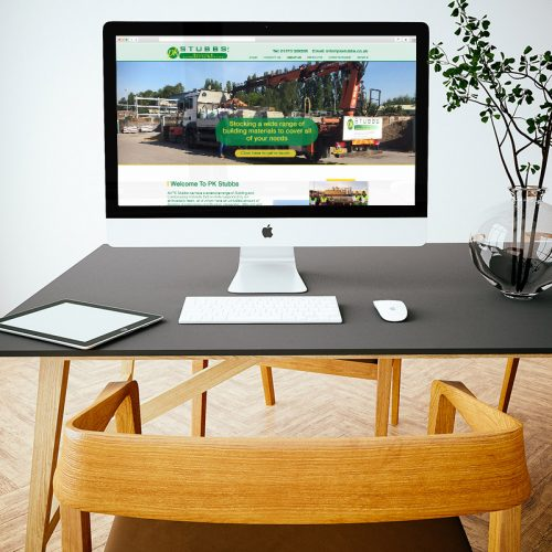Image of E-commerce website on screen