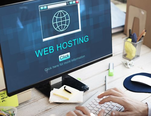 Photo of web hosting in a pc