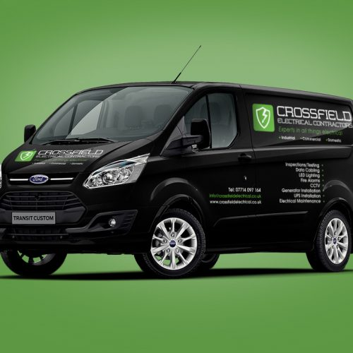 Vehicle Graphics, Van Livery Crewe