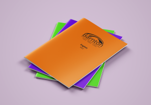 personalised exercise books