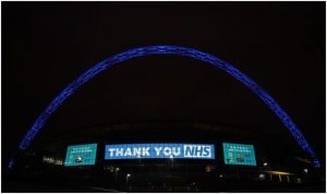 Wembley Stadium Supporting the NHS