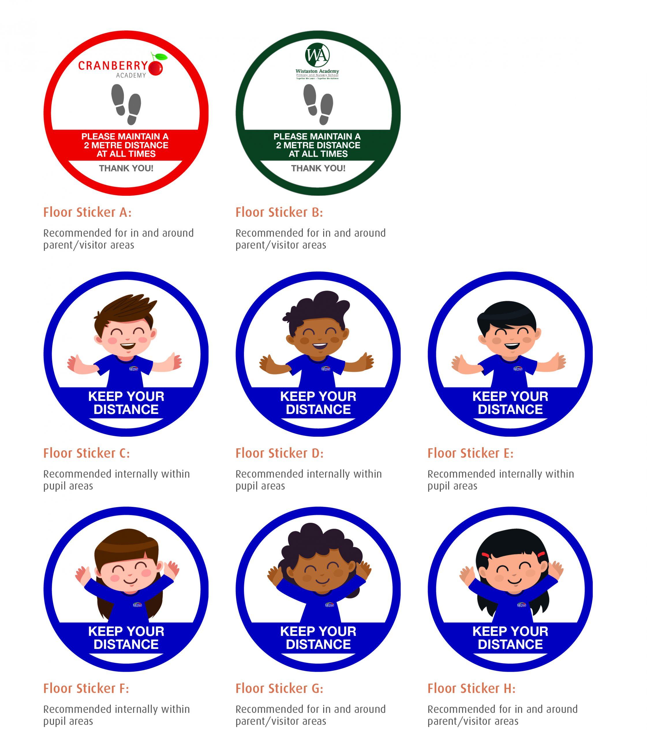 Primary School Coronavirus Signage